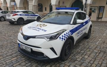 MĚSTSKÁ POLICIE MÁ NOVÁ SLUŽEBNÍ VOZIDLA